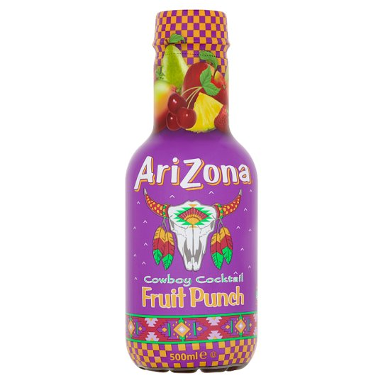 Arizona Cowboy Cocktail Fruit Punch ovocný nápoj 500ml