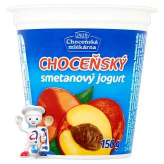 Choceňská Mlékárna Choceňský smetanový jogurt broskvový 150g