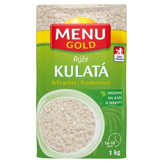 Menu Gold Rýže kulatozrnná 1kg