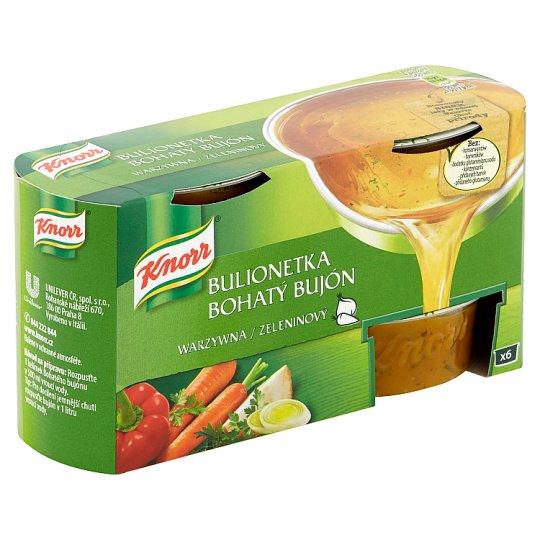Knorr Bohatý Bujón Zeleninový 6 x 28g
