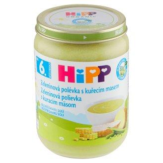 HiPP Bio zeleninová polévka s kuřecím masem 190g