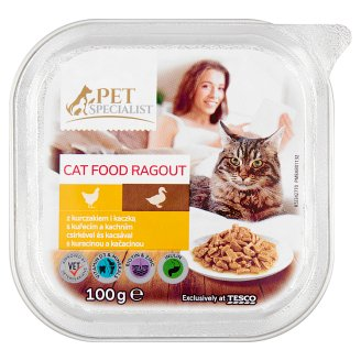 Tesco Pet Specialist Ragout with Duck and Chicken 100g