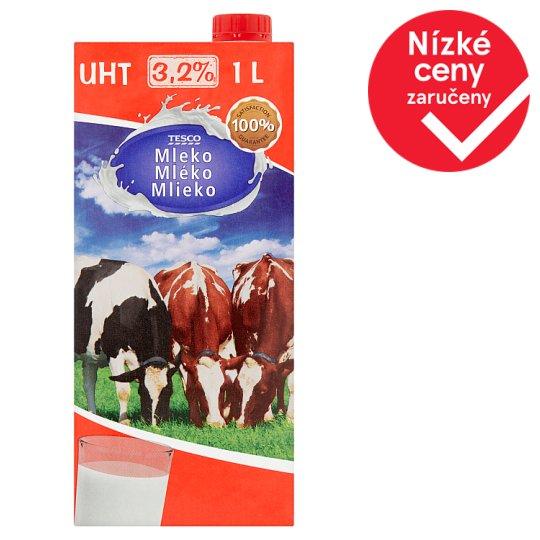 Tesco Mléko 3,2% 1l
