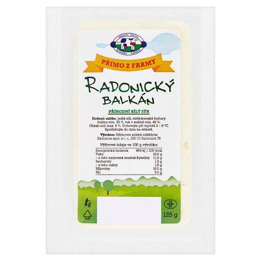 Mlékárna Radonice Radonický balkán 125g