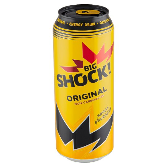 Big Shock! Original Non-Carbonated Energy Drink 500ml