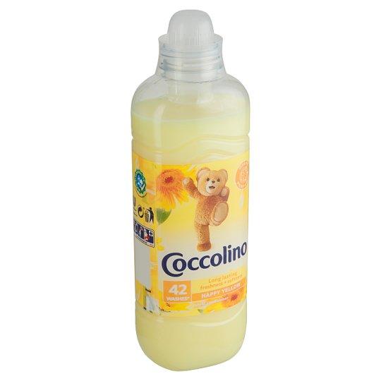 Coccolino Happy Yellow aviváž 42 dávek 1,05l