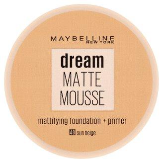 Maybelline New York Dream Matte Mousse matující make-up v lehké pěně SPF 15 48 Sun Beige 18ml