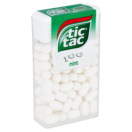 Tic Tac Dragee with Mint Flavor 49g