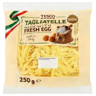 Tesco Tagliatelle with Fresh Egg 250g