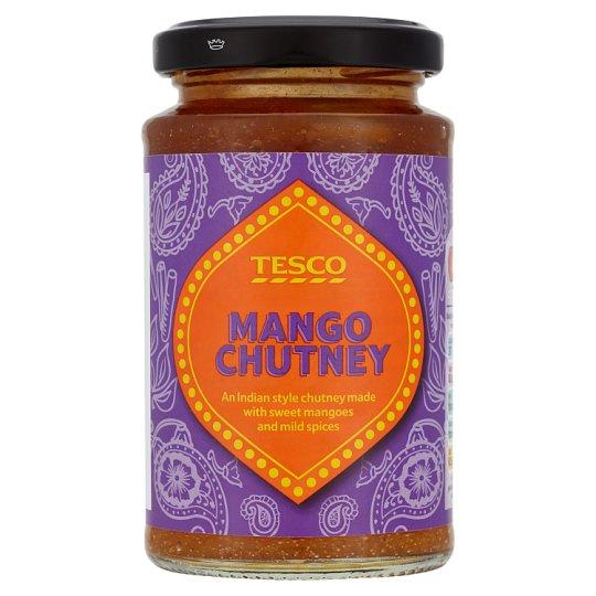 Tesco Mangové chutney jemně pálivé 230g