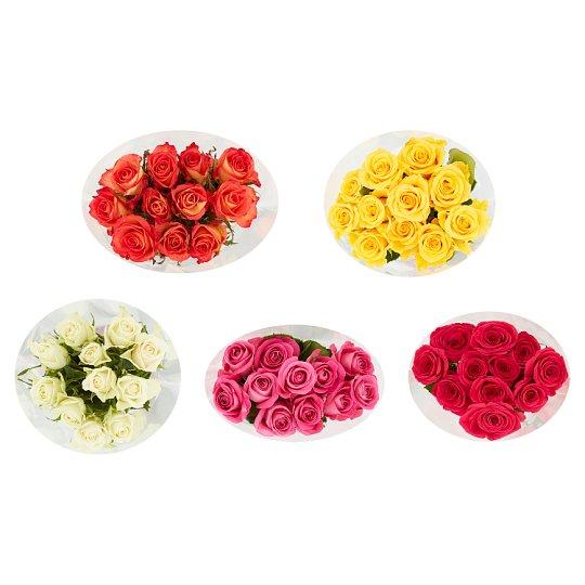 Tesco Kytice růže 50cm 11 ks