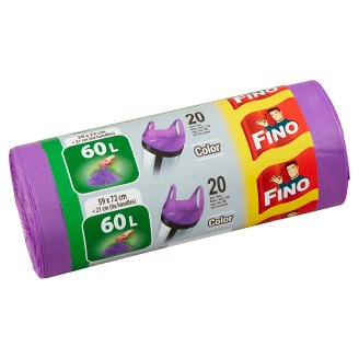 Fino Color Odpadkové pytle 60l 20 ks