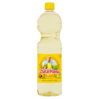 Zlatá Haná Vegetable Oil 1L