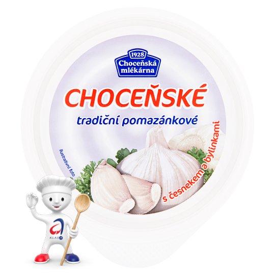 Choceňská Mlékárna Choceňské tradiční pomazánkové s česnekem a bylinkami 150g