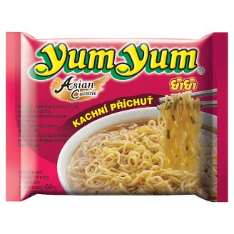 Yum Yum Instant Noodle Soup with Peking Duck Flavor 60g