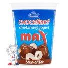 Choceňská mlékárna Choceňský smetanový jogurt max čoko-oříšek 380g