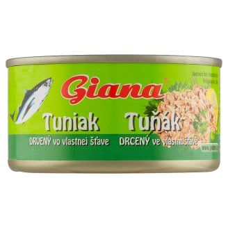 Giana Tuna Shredded in Brine 185g
