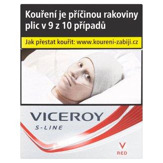 Viceroy S-Line Red cigarety s filtrem 40 ks