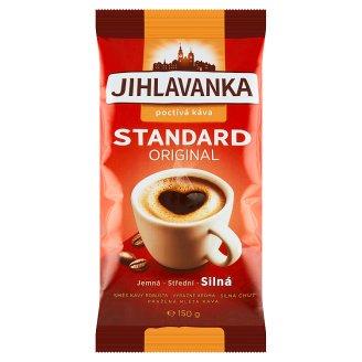 Jihlavanka Standard original pražená mletá káva 150g