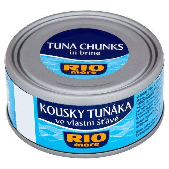 Rio Mare Kousky tuňáka ve vlastní šťávě 160g