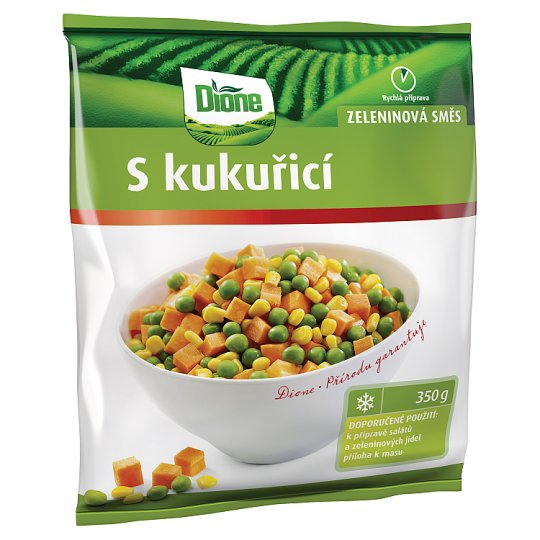 Dione Zeleninová směs S kukuřicí 350g