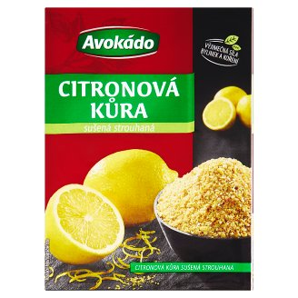 Avokádo Dried Grated Lemon Peel 14g