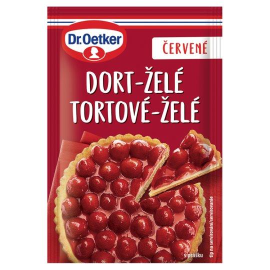 Dr. Oetker Cake-Jelly Red Powder 10g