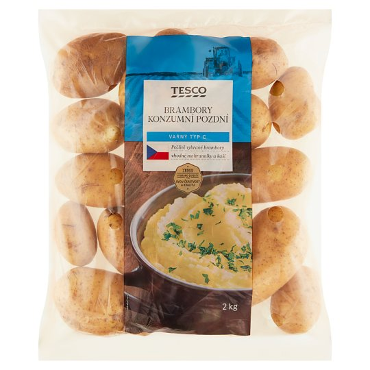 Tesco Potatoes Consumer Late 2kg
