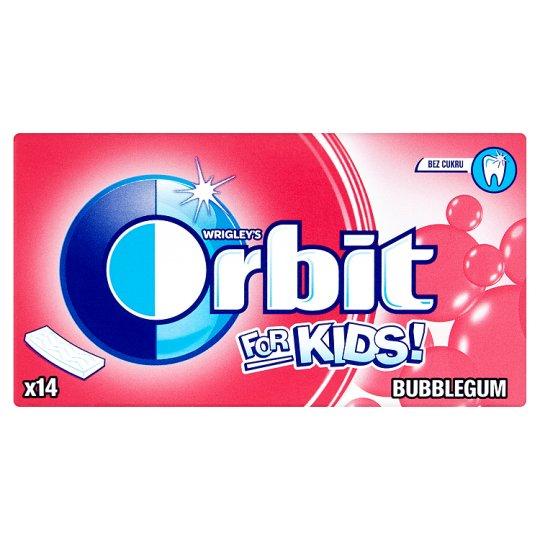 Wrigley's Orbit Bubblegum for kids 14 ks 27g