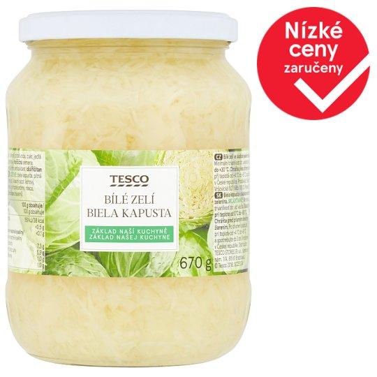 Tesco White Cabbage 670g