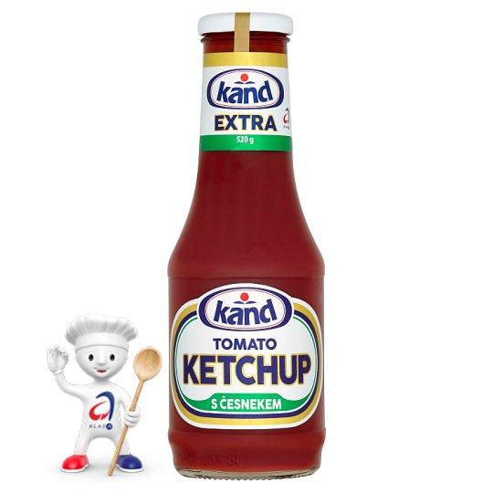 Kand Kečup extra s česnekem 520g