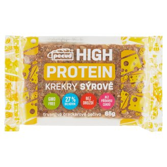 Pecud Hight Protein Crackers Cheese 65g