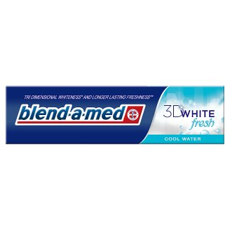 Blend-a-med 3DWhite Fresh Cool Water Zubní Pasta 100 ml
