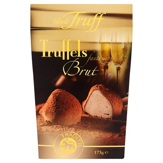 Delitruff Chocolate Flavoured Confectionery with Sparkling Flavour 175g