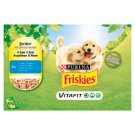 FRISKIES JUNIOR VitaFit Pocket with Chicken and Peas in Jelly 4 x 100g