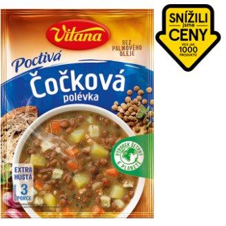 Vitana Poctivá polévka čočková 127g