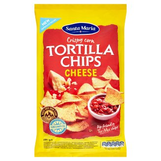 Santa Maria Tortilla Chips Cheese 185g