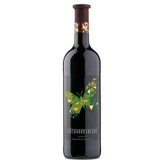 Víno Motýl Svatovavřinecké suché červené víno 0,75l