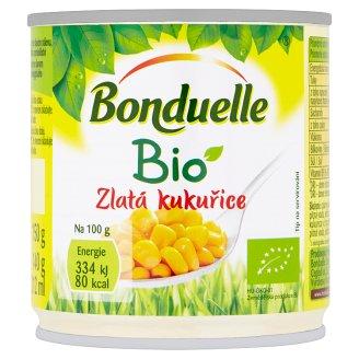 Bonduelle Bio zlatá kukuřice v mírně slaném nálevu 150g