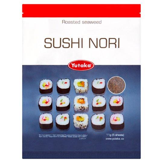 Yutaka Sushi Nori sušené mořské řasy 11g