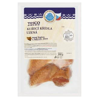 Tesco Chicken Wings Smoked 300g