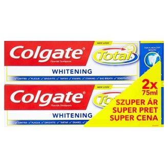 Colgate Total Whitening zubní pasta 2 x 75ml