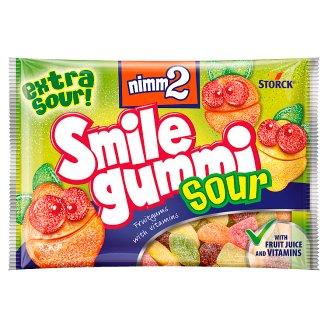 Storck Nimm2 Smile gummi ovocné želé s obsahem vitamínů 100g
