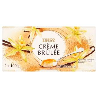 Tesco Crème Brûlée 2 x 100g