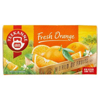 TEEKANNE Fresh Orange, World of Fruits, 20 Tea Bags, 45g