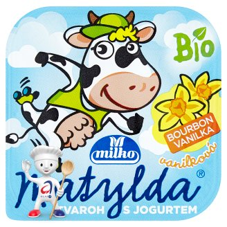 Milko Matylda Dessert with Bio Curd and Bio Yoghurt 100g Different Flavours