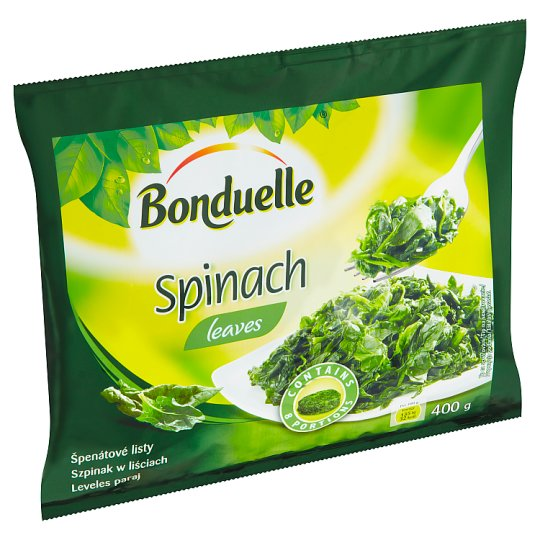 Bonduelle Spinach Leaves 400g