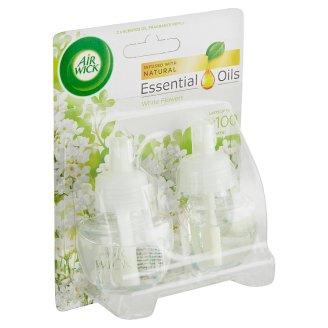 Air Wick Essential Oils Tekutá náplň do elektrického přístroje bílé květy frézie 2 x 19ml