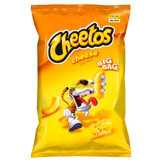 Cheetos Kukuřičný výrobek s příchutí sýra 85g