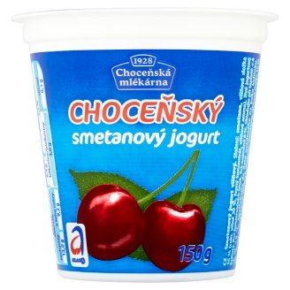 Choceňská Mlékárna Choceňský Creamy Yoghurt Cherry 150g